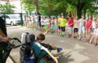Športno druženje s tretješolci OŠ Solkan
